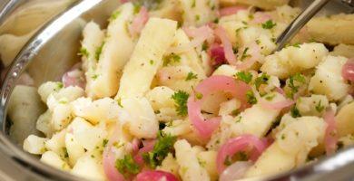 receta de yuca al mojo estilo cubano