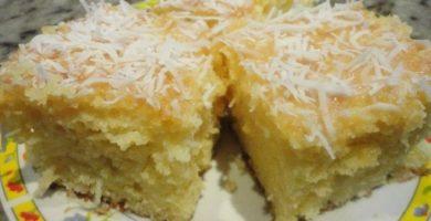 Cómo preparar una torta de yuca